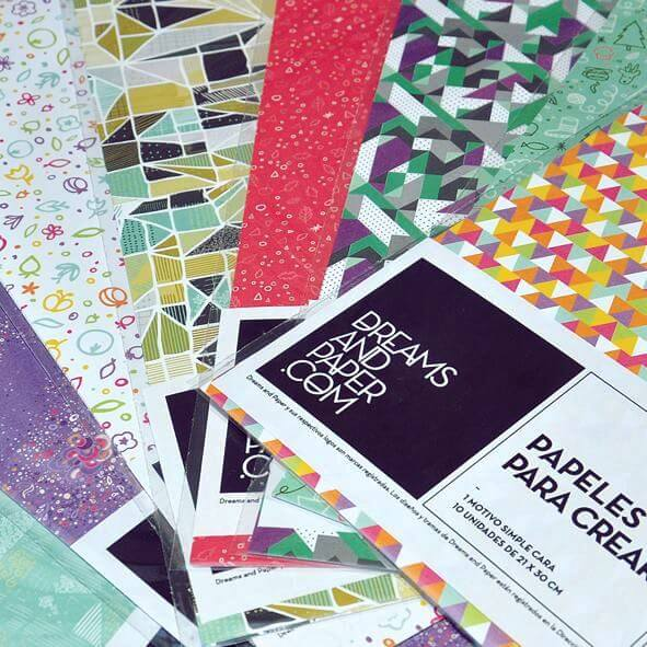 Photo for: Set de papeles estampados